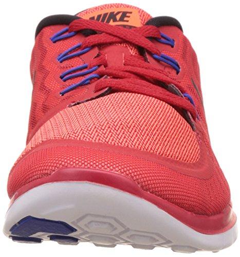 Nike Mens Free 5.0 Scarpa Da Corsa Rosso / Nero / Bianco