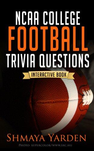 Sports Trivia: NCAA College Football Trivia Questions (The 101 Series - Fun  Trivia Games