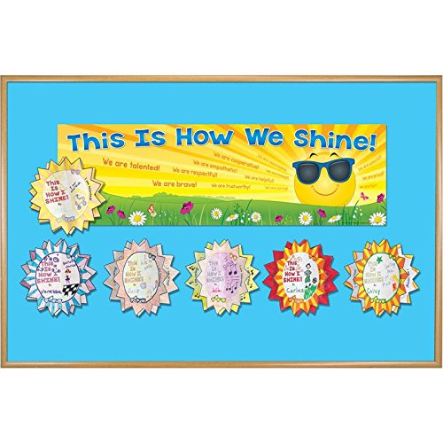 Ready-to-Decorate 3-D This is How We Shine Bulletin Board Kit