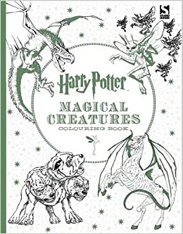 Harry Potter Magical Creatures Colouring Book Warner Brothers 9781783705825 Amazon Books