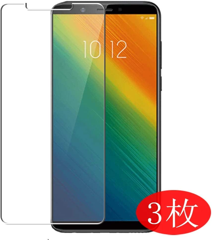 【3 Pack】 Synvy Screen Protector for Lenovo K9 Note TPU Flexible HD Film Protective Protectors [Not Tempered Glass]