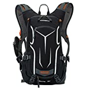 Lixada Cycling Rucksack, 18L Waterproof Bike Backpack Breathable and Lightweight Running Backpack for Fitness Running…