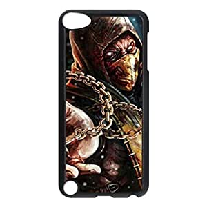 Scorpion Mortal Kombat X Custom Unique Image for ipod 5th Generation Hard Case Cover Skin