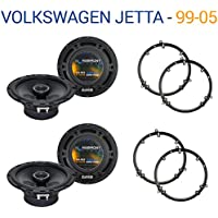 Volkswagen Jetta 1999-2005 Factory Speaker Upgrade Harmony (2) R65 Package New
