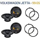 Fits Volkswagen Jetta 1999-2005 Factory Speaker Upgrade Harmony (2) R65 Package New