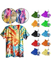 Tie Dye Kit, 10 Colors Shirt Dye Kit for Kids, Adults, User-Friendly, Add Water Only Indoor and Outdoor Activities Supplies DIY Dyeing Kit, All in One Creative Tie-Dye Kit Perfect for Party Group
