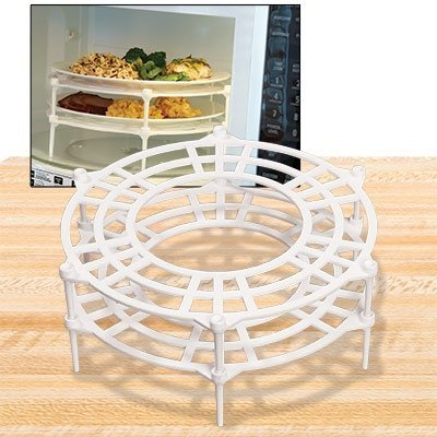 Microwave Plate Stacker, Set of 2 (Stone Stacker)