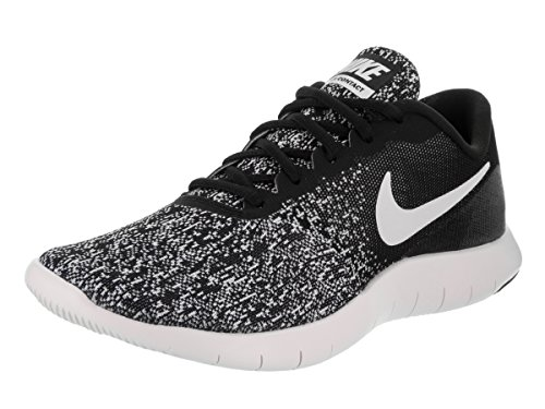 97aab8146f46 Nike New Womens Flex Contact Running Shoe Black White 8.5