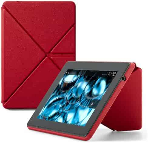 Shopping fire tablet accessories amazon device accessories amazon kindle fire hd standing leather origami case will only fit kindle fire hd 7 publicscrutiny Image collections