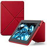 """Amazon Kindle Fire HD Standing Leather Origami Case (will only fit Kindle Fire HD 7""""), Red"""