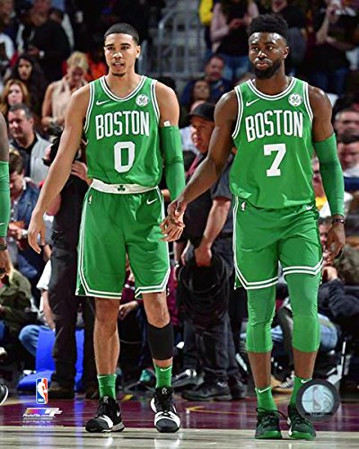 Jayson Tatum  Jaylen Brown Boston Celtics 2017-2018 NBA Photo (Size 8quot