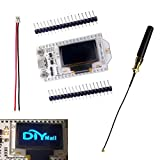 DIYmall 0.96 OLED Display ESP32 ESP-32S WIFI Bluetooth Lora Module Development Board Antenna Transceiver SX1276 915MHZ 868MHZ IOT for Arduino Smart Home