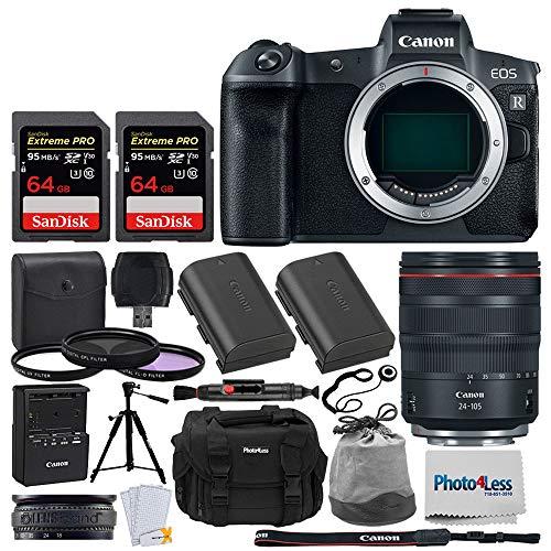 Canon EOS R Mirrorless Digital Camera + Canon RF 24-105mm f/