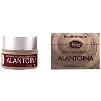 Crema regenerativa tonifiante-rides para el rostro con alantoína, colágeno y elastina-elementos