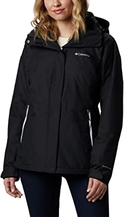 Columbia Women's Bugaboo II Fleece Interchange Jacket, Waterproof and Breathable