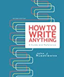 How to Write Anything 2nd Edition