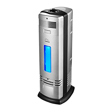 lavieair permanent filter air purifier with ionizer, uv-c sanitizer ...