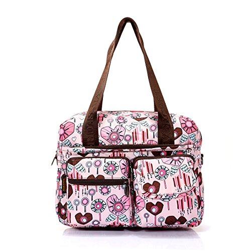Bag Women Bag 6 Printing Diagonal Mummy Large Bag Shining Kids Bag Polyester Mummy Capacity May w8YtZtq