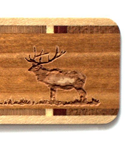 Mitercraft Engraved Wooden Bookmark - Yellowstone National Park, Wyoming with Tassel - Search B076VW33V3 to See Personalized Version. by Mitercraft (Image #4)
