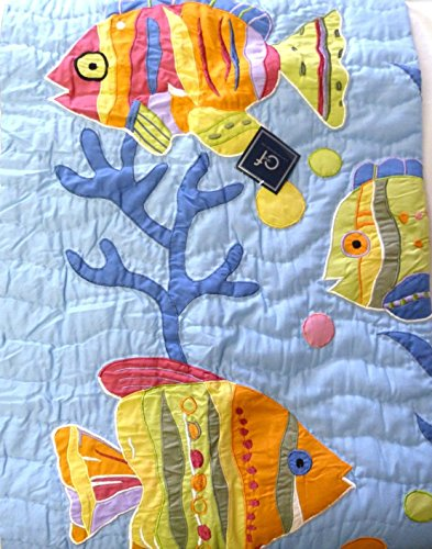 Tropical Fish Quilted Throw Beach product image