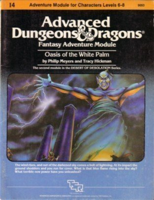Advanced Dungeons and Dragons Module Oasis of the White Palm (Dungeon And Dragons Modules compare prices)