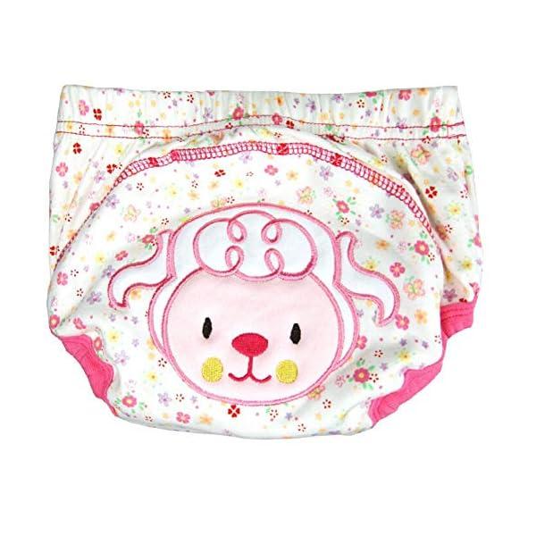 CuteOn 7 pacchetto di Formazione del Bambino del Bambino dei Ragazzi delle Ragazze di Cotone Potty Pantaloni… 4