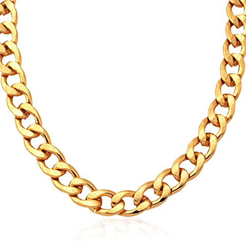 Thick Chain Plated Classic Necklace