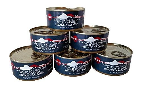Wild Alaska Smoked Sockeye Salmon Canned Smoked Salmon Spread