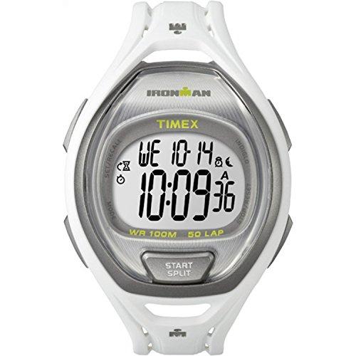 Timex TW5K96200 Ironman Sleek 50 Unisex Watch White 42mm Resin