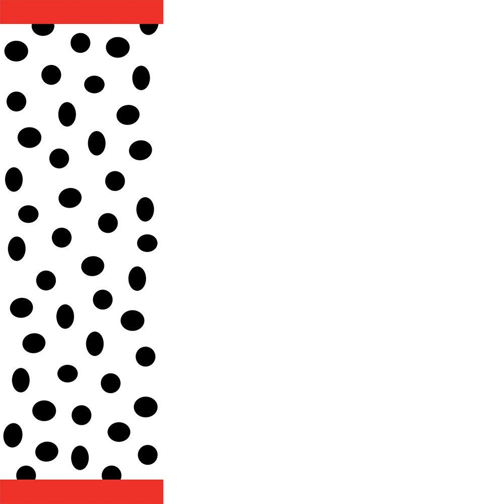 Creative Converting Barnyard Bash Plastic Table Cover, Rectangle 54 x 108''