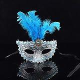 Culturemart Princess Girls Party Masks Halloween Birthday Party Decoration ren Face Masquerade Mask Decor Costume Dress Up Mask