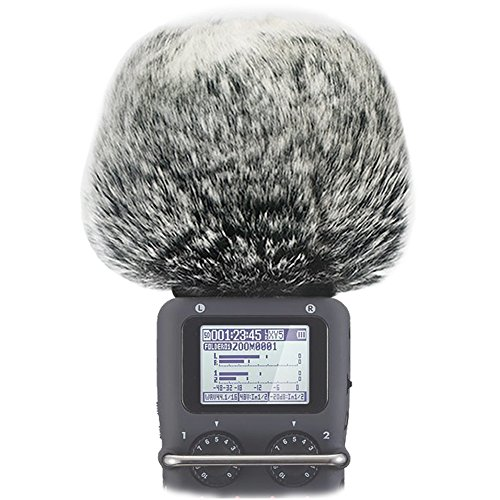 Microphone Furry Windscreen Wind Cover for Zoom H5/H6