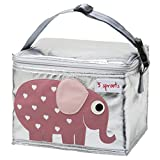 3 Sprouts Lunch Bag, Elephant