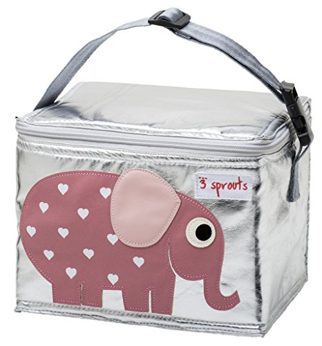 Sprouts Lunch Bag Elephant Pink