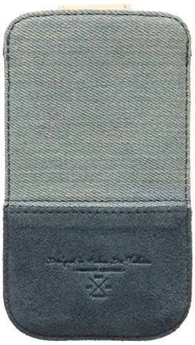 QIOTTI QX-P-0200-01-M Q.Pouch Alcan Premium Echtleder (Größe: M) blau