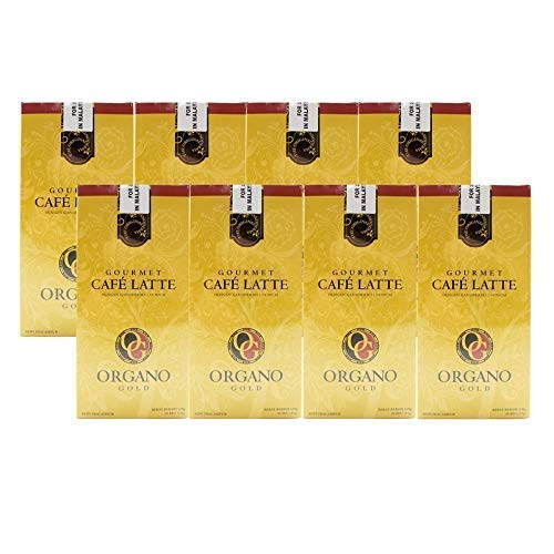 8 Boxes Organo Gold Gourmet Cafe Latte with 100% Organic Ganoderma Lucidum Extract - HOS by Organo Gold (Image #6)