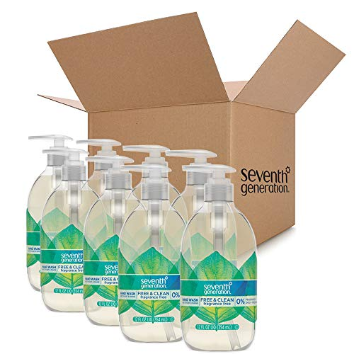 Seventh Generation Hand Wash Soap, Free & Clean Unscented, 12 Fl Oz, (Pack of 8) (Pack May Vary) by Seventh Generation (Image #3)
