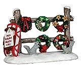 Christmas Wreaths 4 Sale Lemax Christmas Village Accessory