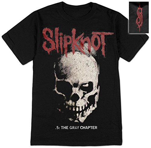 Bravado Slipknot- Skull and Tribal (Front/Back) T-Shirt, Black, XX-Large Black 20 Skulls T-shirt