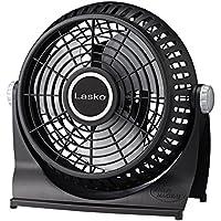 Lasko 507 10-Inch Breeze Machine Floor or Table Fan, Black