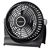 Lasko 507 10-Inch Breeze Machine Floor or Table Fan, Black