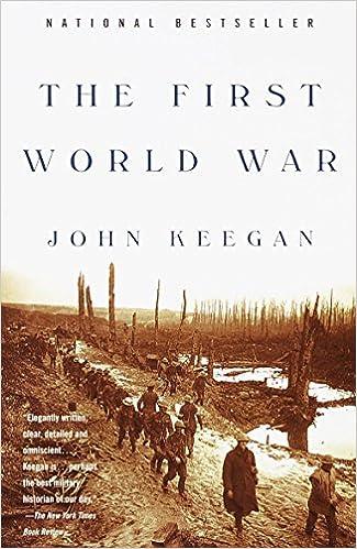 665bb3045e99f Amazon.com: The First World War (9780375700453): John Keegan: Books