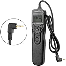 Wired Timer Remote Shutter Release Control Cable Cord RS-60E3 for Canon DSLR Cameras T5i T4i T2i T1i XT XTi XS XSi 60D G16 G15 G12 G11 G10 G1X 70D 60Da 60D T6s T6i T3i T5 T3 700D