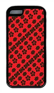 Hot for iphone 4/4s Customized Unique Print Design Red Design Restoring Ancient Ways New Fashion Tpu Black for iphone 4/4s Cases