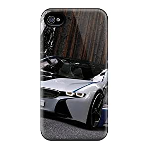 New Style Tpu 4/4s Protective Case Cover/ Iphone Case - Bmw Vision