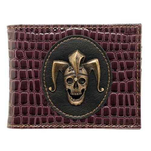 Suicide Squad Joker Skull Bi-Fold Wallet