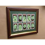 MASTERS OF HORROR FRAMED COLLECTABLE CARD SET by PHILIP NEILL GRAPHICS