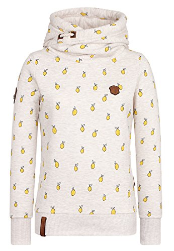 Oma Sweatshirt (Naketano Women's Hoody I Miss My Friend Oma Melange, XL)