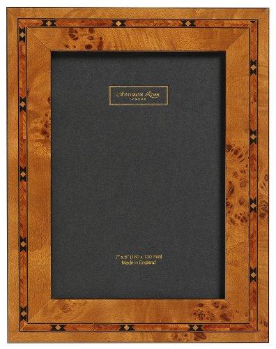 Addison Ross, marco de la foto, madera de marquetería, 4x6