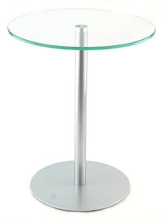 Glastisch rund  Beistelltisch / Couchtisch / Glastisch / rund / 40 x 40 x 50cm ...